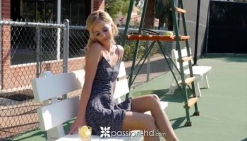 Small breastn babe pounded outdoorses te